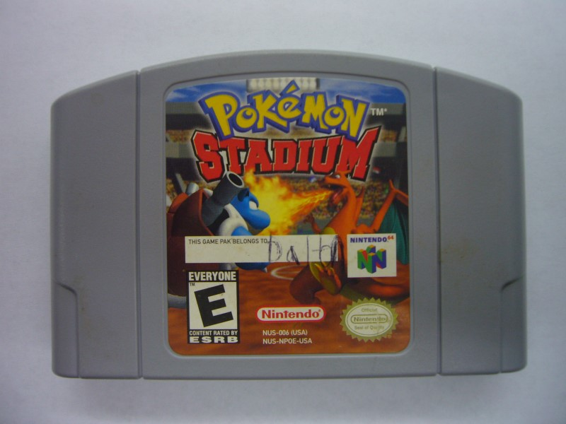 NINTENDO 64 Game POKEMON STADIUM *CARTRIDGE ONLY*