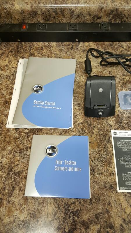 Palm M125 Hand held PDA Orgaizer Multi Function bundle