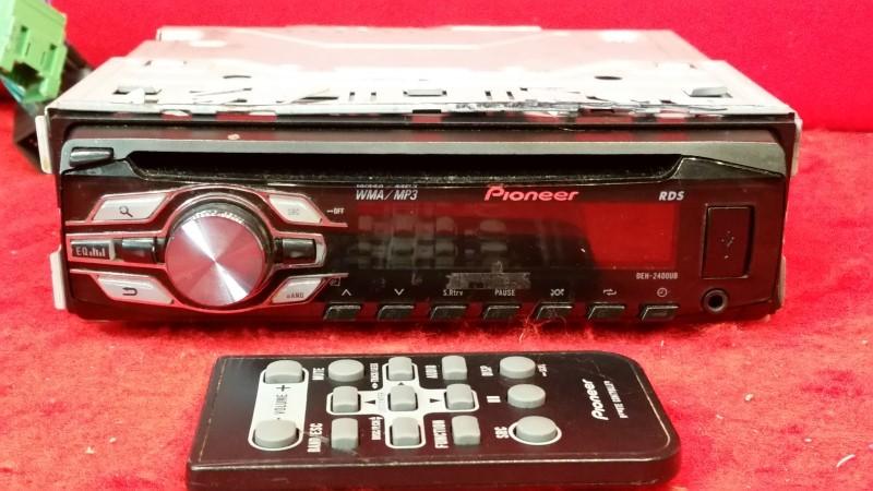 Pioneer DEH-2400UB CD Single Disc USB MP3 Radio W/ Remote