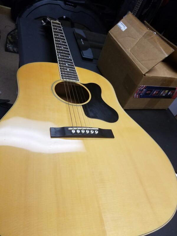 RECORDING KING Acoustic Guitar RAJ-116-NA