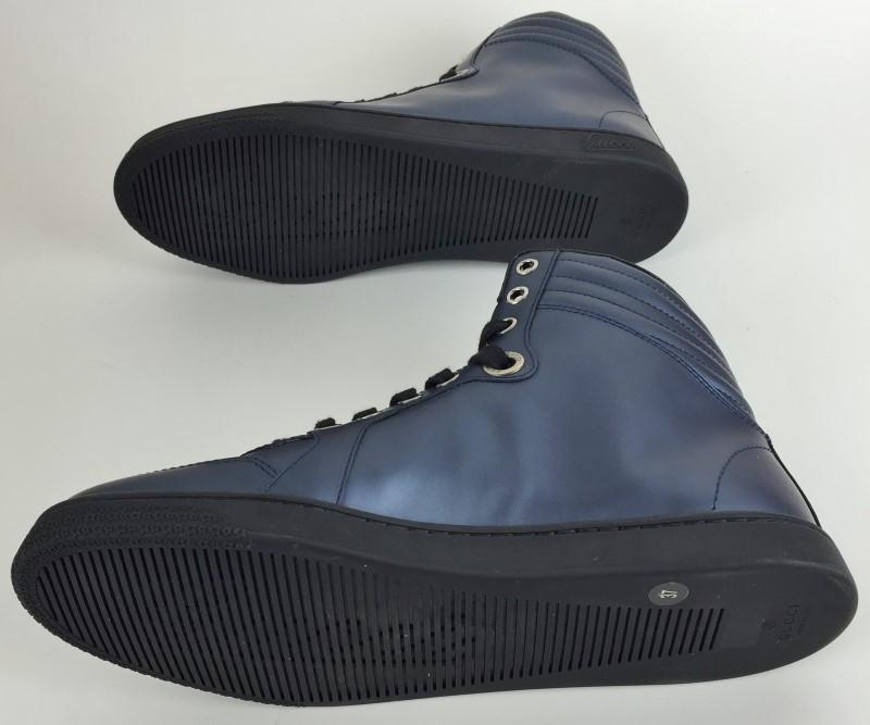 GUCCI BLUE HIGH TOPS 283703