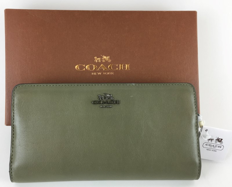 COACH SKINNY WALLET IN LEATHER 51936