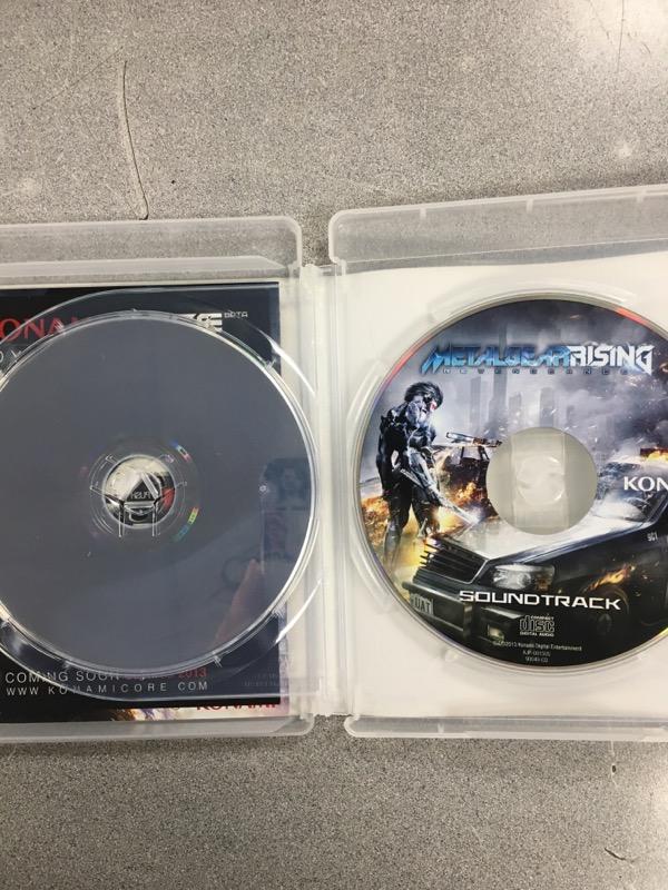 SONY Sony PlayStation 3 Game METALGEAR RISING REVENGEANCE
