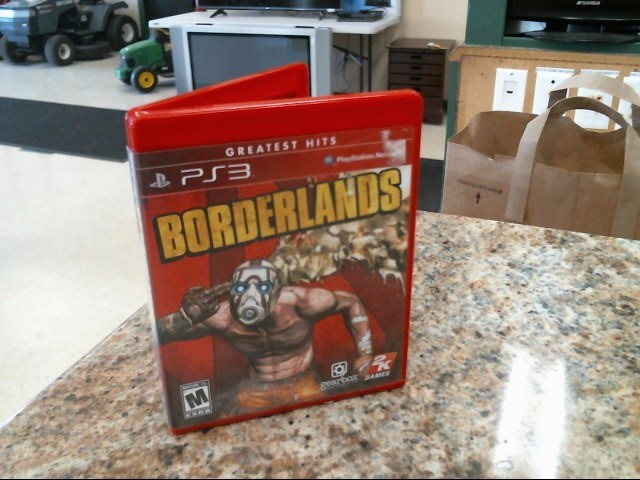 SONY Sony PlayStation 3 Game BORDERLANDS