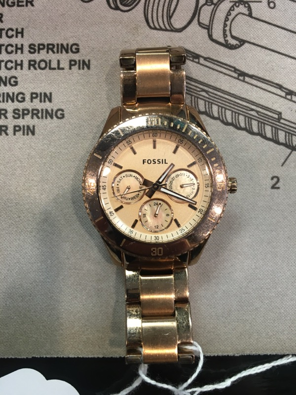 FOSSIL Gent's Wristwatch ES-2859