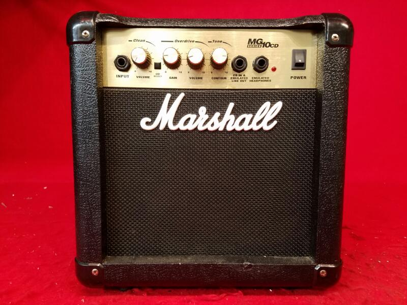 Marshall MG10CD MG Series 40-Watt Guitar Amp 120V-60Hz
