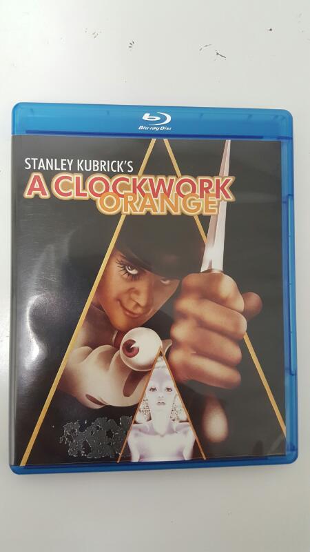 BLU-RAY MOVIE Blu-Ray A CLOCKWORK ORANGE