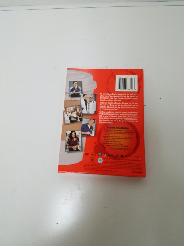 Scrubs Season 6 on DVD