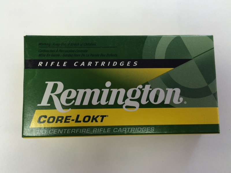 Remington - 308 Win - 150 GR. Core-Lokt PSP