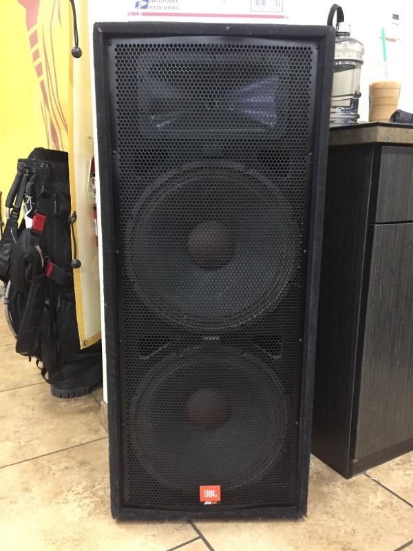 JBL Monitor/Speakers JRX100