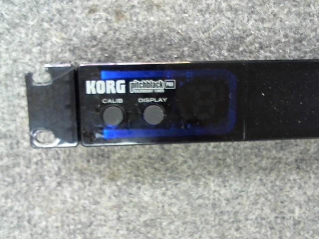 KORG Effect Equipment PITCHBLACK CHROMATIC TUNER