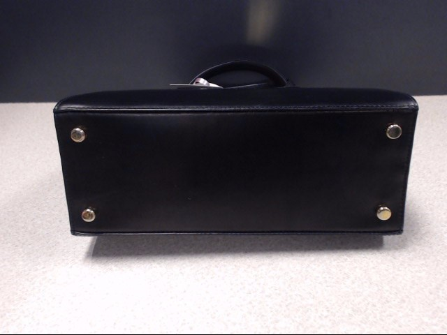 SALVATORE FERRAGAMO  GANCINI KELLY BLACK LEATHER CLASSIC WITH BOW
