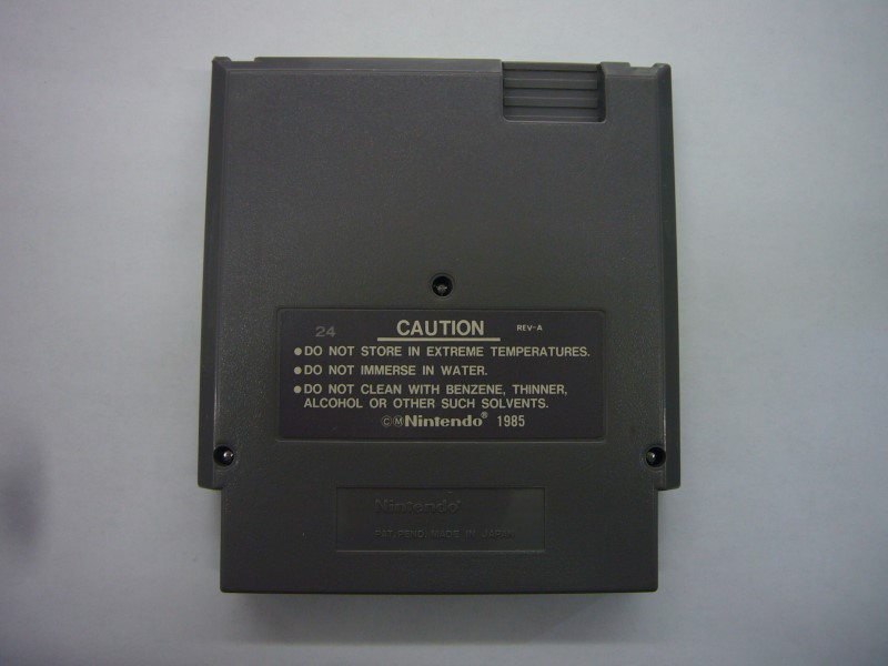 NINTENDO NES Game MISSION: IMPOSSIBLE