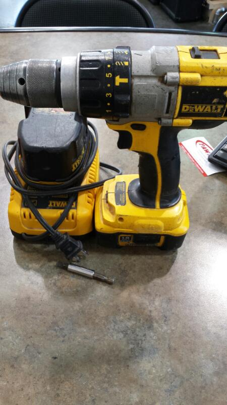 DEWALT Hammer Drill DCD970