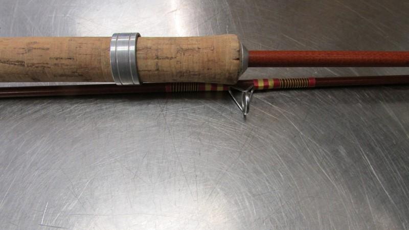 Antique TRUE TEMPER Fishing Pole WATER KING #1930 - FISHING ROD