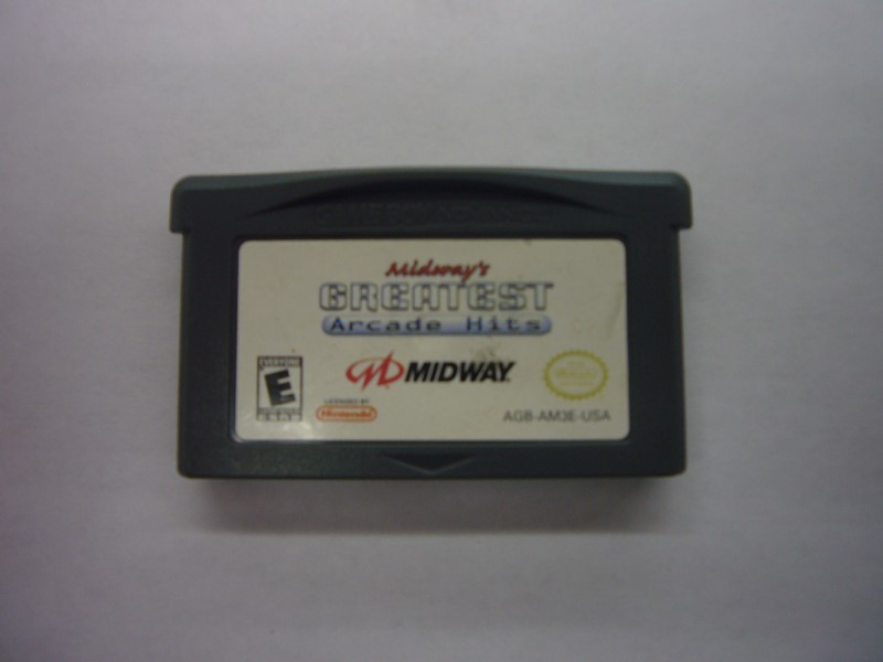 NINTENDO GBA Game MIDWAY'S GREATEST ARCADE HITS