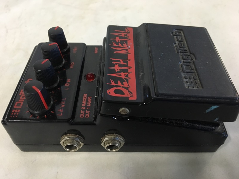 DIGITECH DEATH METAL GUTIAR PEDAL