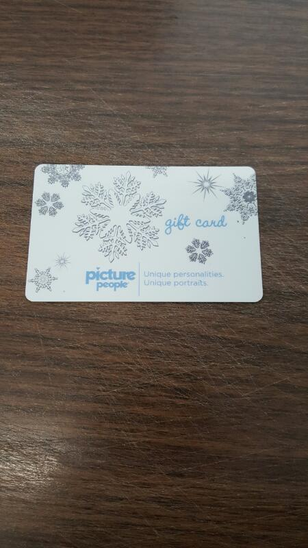 Picture People Gift Card $79.96 - Card in Hand, Ready to Ship - FREESHIP