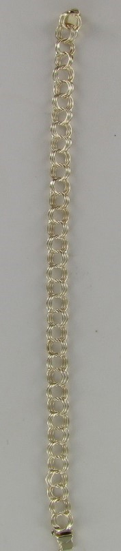 Gold Fashion Bracelet 14K Yellow Gold 4.1dwt
