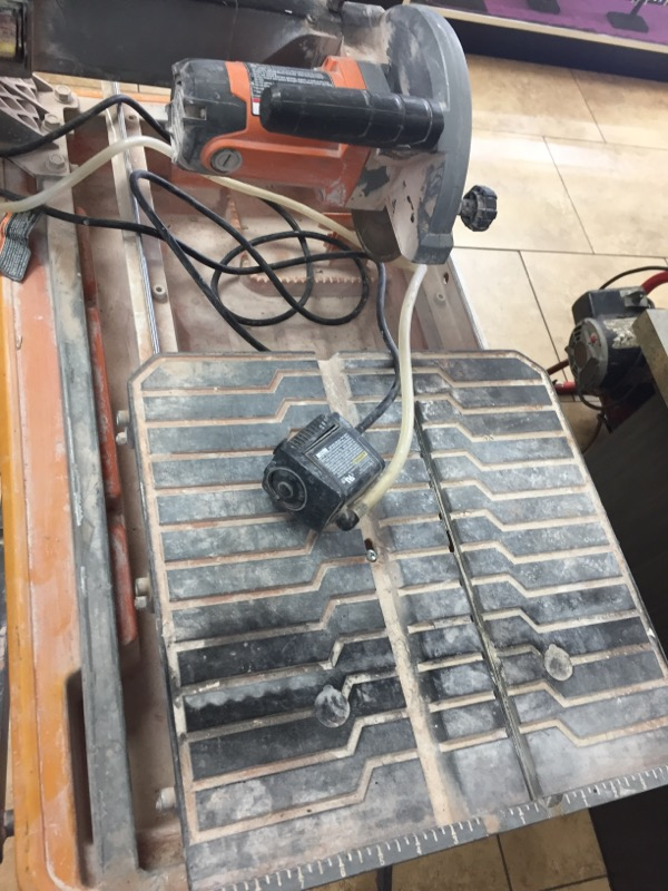 RIDGID TOOLS Tile Saw R4030