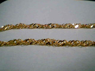"18"" Gold Rope Chain 18K Yellow Gold 3.9g"