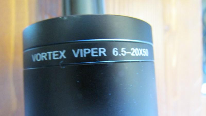 VORTEX OPTICS VIPER 6.5-20X50