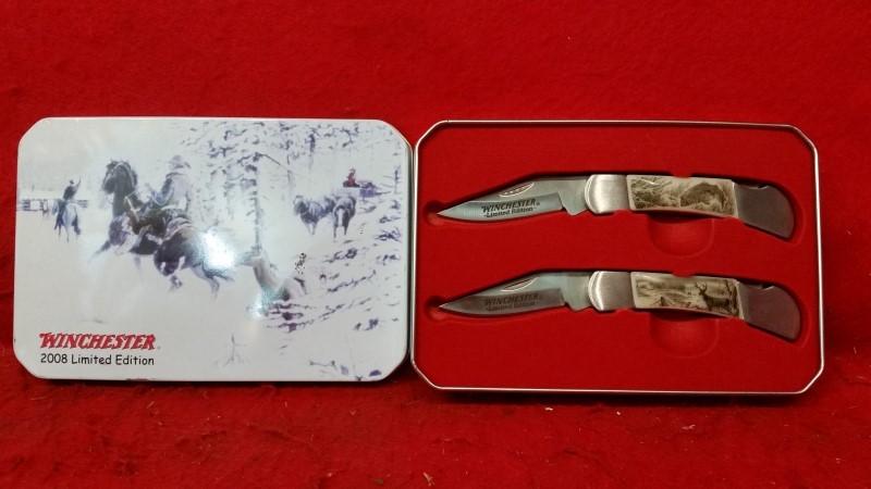Winchester Fishing / Hunting Folding Knife Set