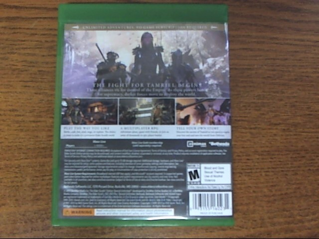 MICROSOFT Microsoft XBOX One Game THE ELDER SCROLLS ONLINE TAMRIEL UNLIMITED