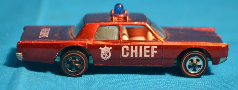 Mattel Hot Wheels 1968 Cruiser Chief Car Red
