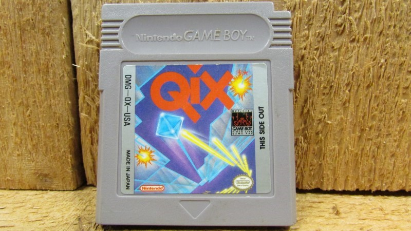 NINTENDO Vintage Game QIX