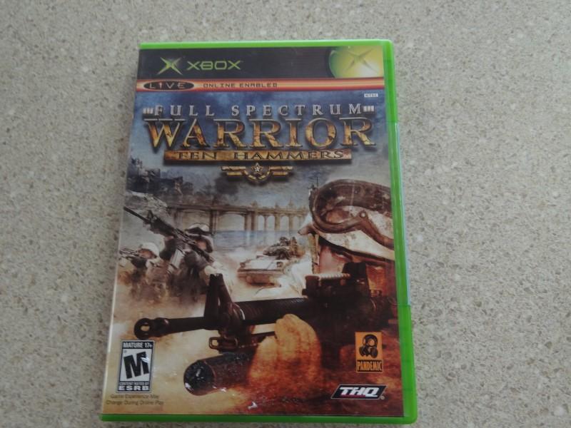 FULL SPECTRUM WARRIOR TEN HAMMERS - XBOX GAME