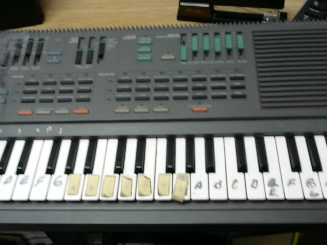YAMAHA Keyboards/MIDI Equipment PSS-460 PORTABLE W/DIGITAL SYNTH