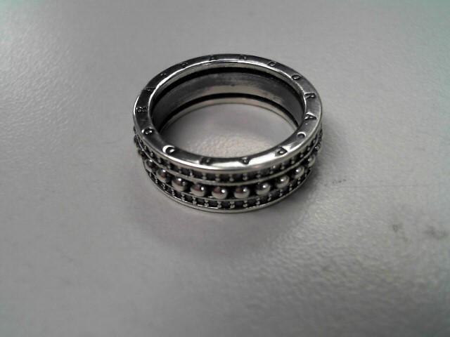 Pandora Lady's Silver Ring 925 Silver 4.8g Size:6