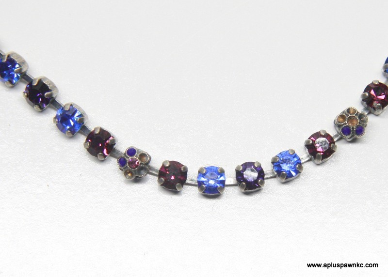 MARIANA Fashion Bracelet MULTI-STONED 925 Silver