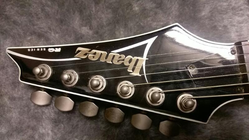 IBANEZ Electric Guitar MODEL RG3EX1 GREY