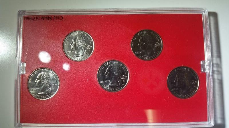 2006 Denver Mint State Quarter Collection Uncirc NV, NE, CO, ND, SD