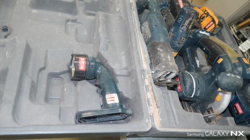 RYOBI Combination Tool Set 5PC 18V COMBO SET