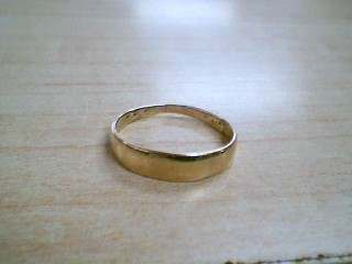 Gent's Gold Ring 14K Yellow Gold 1.1g Size:7.5