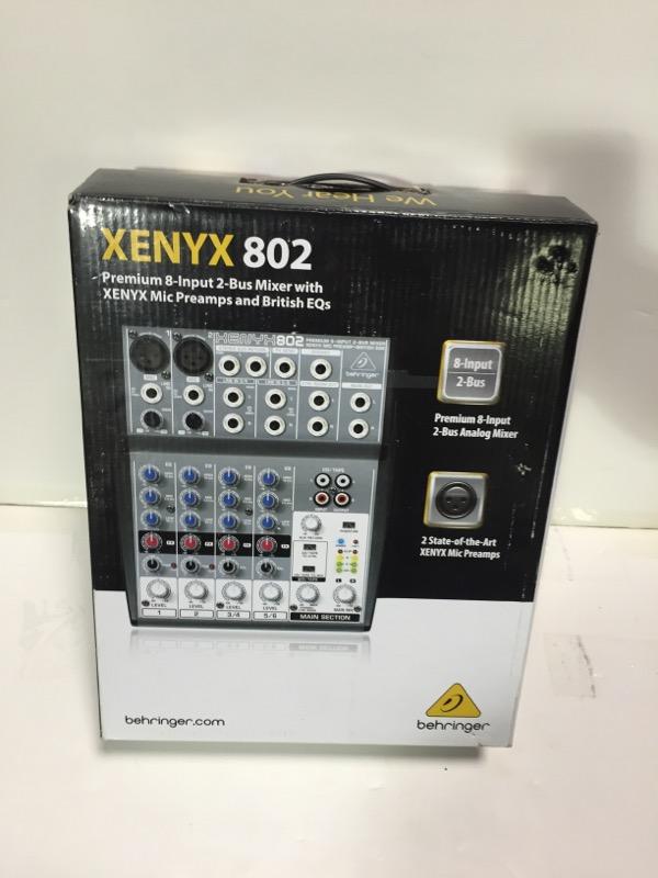 BEHRINGER Mixer XENYX 802