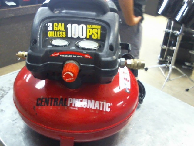 CENTRAL PNEUMATIC Air Compressor AIR COMPRESSOR
