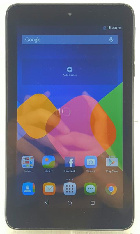 ALCATEL Onetouch Pixi 7 Tablet 4gb Black Wi-fi+4g T-Mobile 9006W