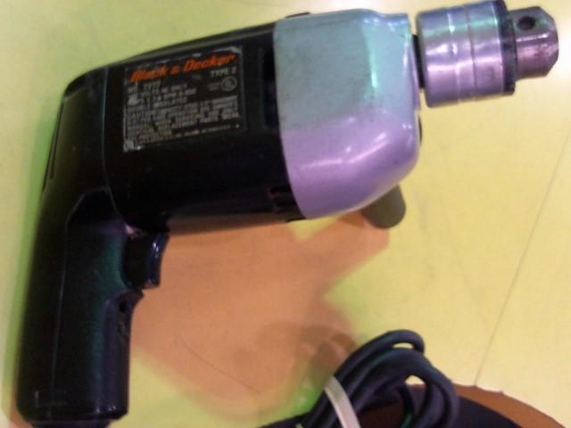 BLACK&DECKER Corded Drill 7277