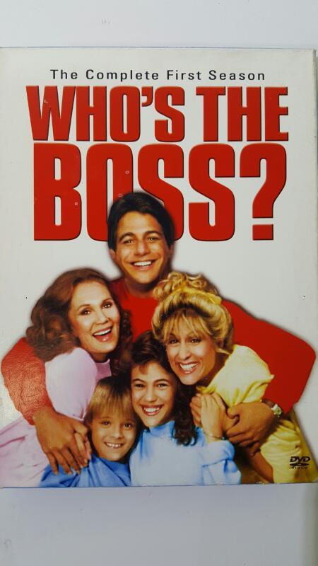 DVD BOX SET DVD WHO'S THE BOSS? SEASON 1