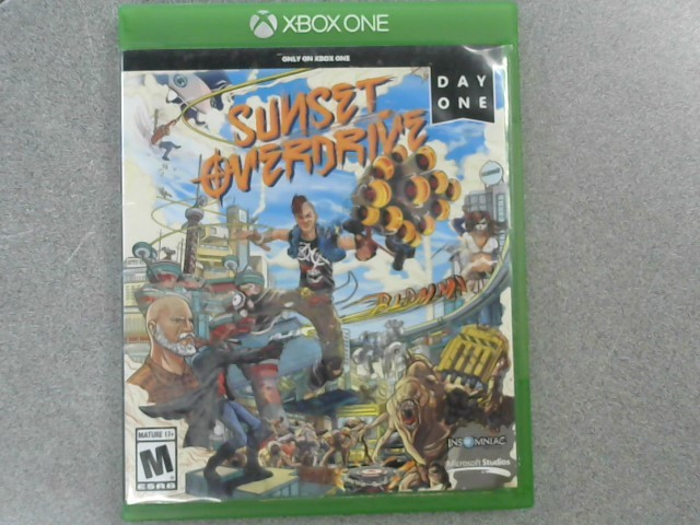 MICROSOFT Microsoft XBOX One Game SUNSET OVERDRIVE - XBOX ONE