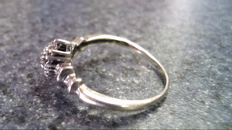 Lady's Diamond Fashion Ring 20 Diamonds .20 Carat T.W. 10K White Gold 2g