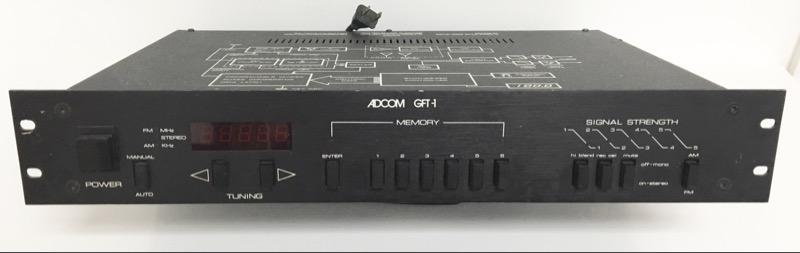 ADCOM STERO AM/FM TUNER GFT-1 *PLEASE READ*