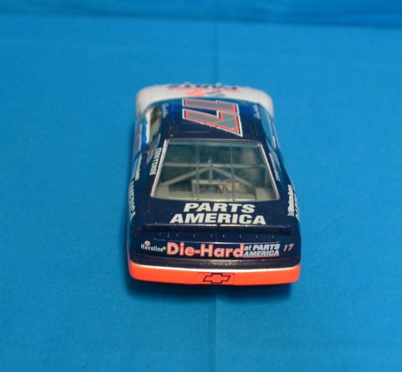 1997 Racing Champions Nascar 1:24 Darrell Waltrip #17 Diecast Blue & White