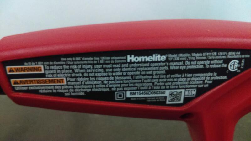 HOMELITE Hedge Trimmer UT41112B