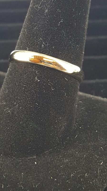 Lady's Gold Wedding Band 10K Yellow Gold 1.3dwt