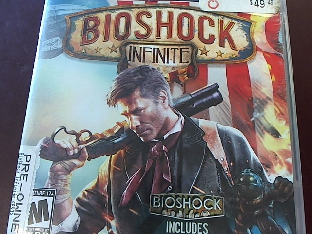 SONY PS3 BIOSHOCK INFINITE
